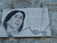 Altiplus, Club randonnée dans la 06, 29 octobre 2016 : le Gramondo; plaque comemoratif