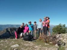 Altiplus, Club randonnée dans la 06, 29 octobre 2016 : le Gramondo; photos de group