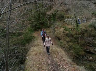 Altiplus , club randonnée dans le 06, 11 décembre 2016 : Le Mont Saint Michel et le circuit des crèches de Luceram, Pont de Sugliet