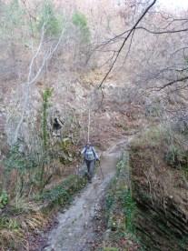 Altiplus , club randonnée dans le 06, 11 décembre 2016 : Le Mont Saint Michel et le circuit des crèches de Luceram pont de Founta