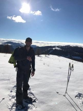Thomas, accompagnateur en montagne et guide de cette sortie