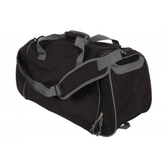 Sportovní taška přes rameno Alpine Pro Zelimkah 2 má dva spojitelné úchopy  a dlouhý nastavitelný ramenní popruh. Postranní kapsy mají chytře řešené  vrchní ... 1b41165496
