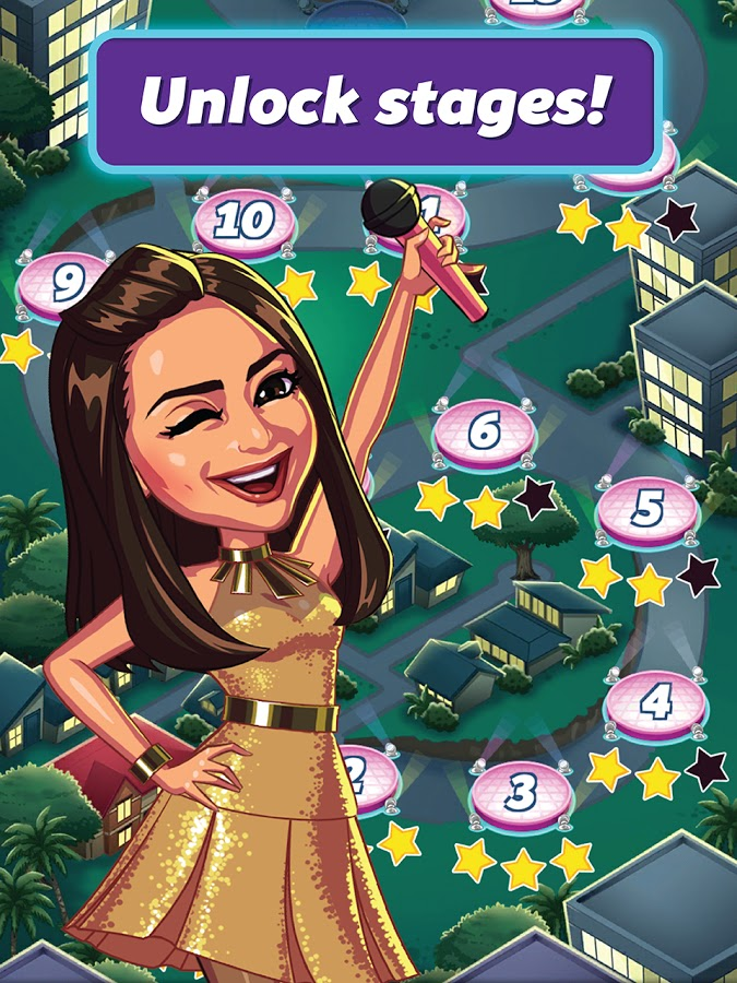 Sarah Geronimo Popsters Game - Xeleb 2015