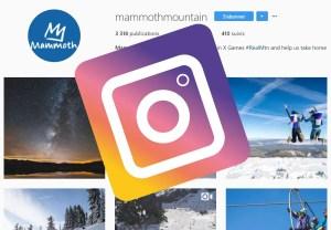 instagram Mammoth