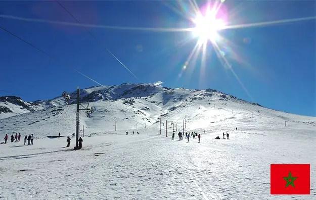 maroc ski