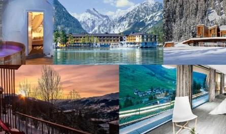hôtels romantiques montagne
