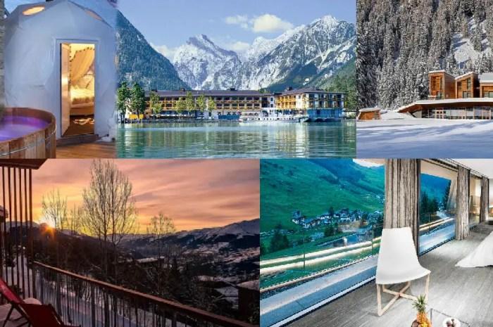 Top 5 des hôtels de montagne pour une escapade romantique !