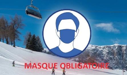 skier avec un masque
