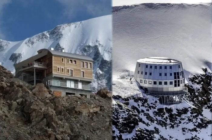 Les principaux refuges du Mont-Blanc mettent fin à leur saison à cause de la neige