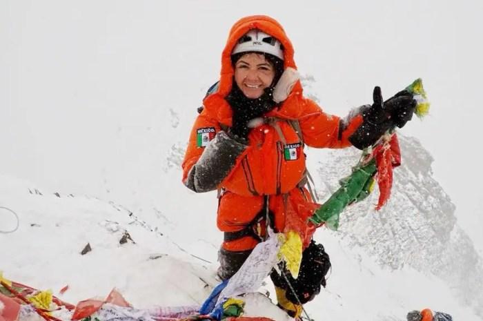 Viridiana Alvarez : les 3 plus hauts sommets du monde en moins de 2 ans !