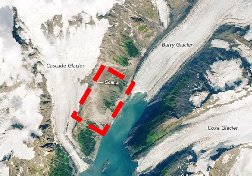 Glacier Barry Alaska