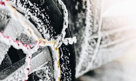 chaînes à neige