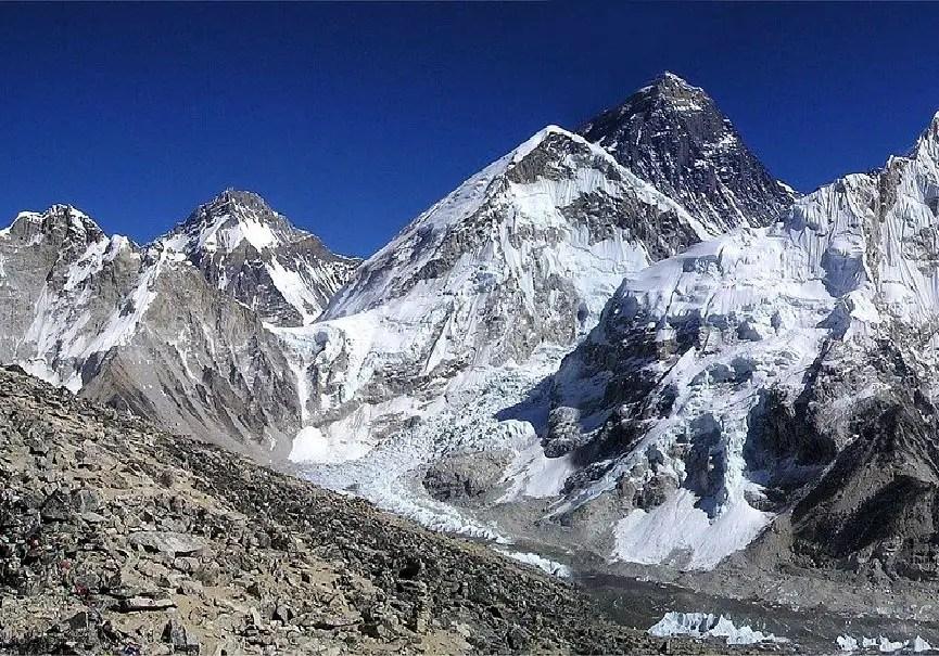 versant népalais de l'everest