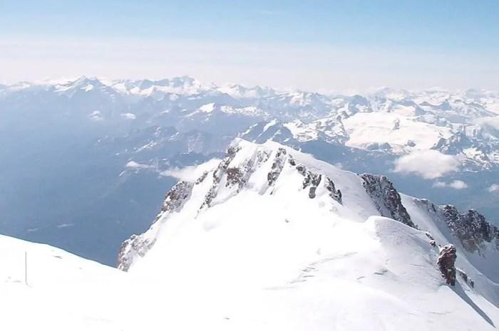 Le sommet du Mont-Blanc est-il en France ou en Italie ?
