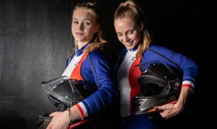 Margot et Carla bobsleigh français