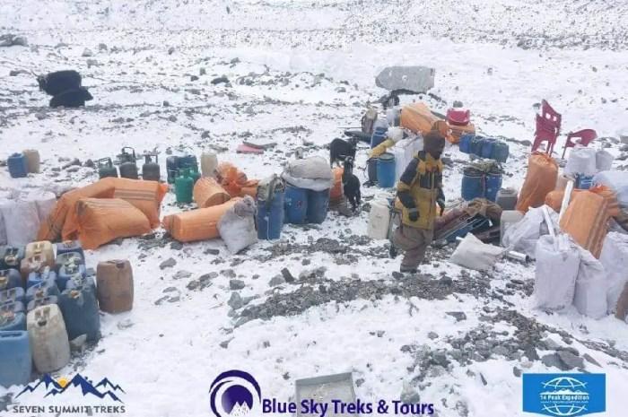 La logistique de l'expédition hivernale au K2 est en route !