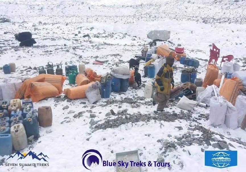 Camp de base du K2