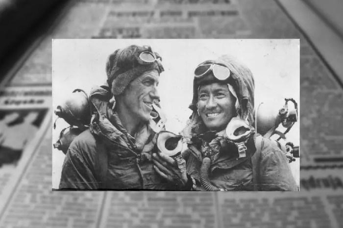 La nouvelle de la conquête de l'Everest en 1953 en messages codés !