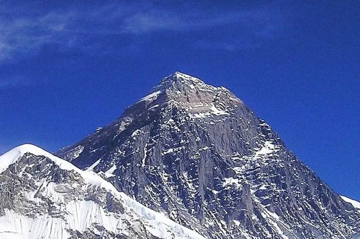 De plus en plus d'oxygène au sommet de l'Everest !