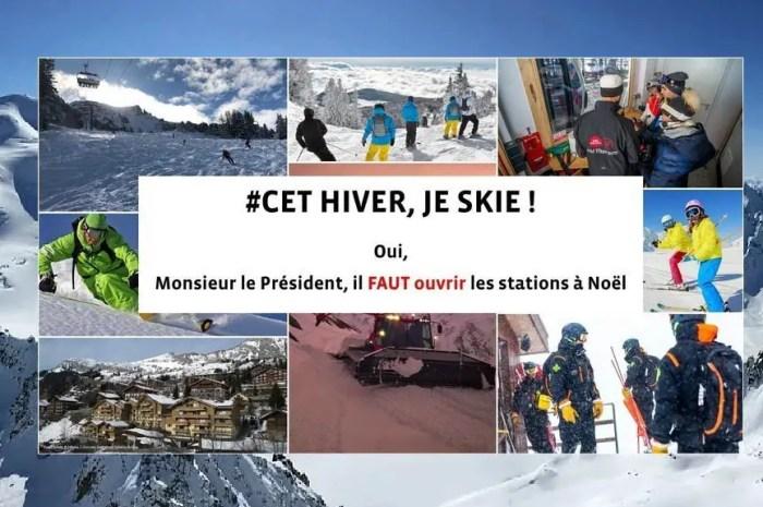 Elus et professionnels de la montagne signent une pétition pour l'ouverture des pistes !