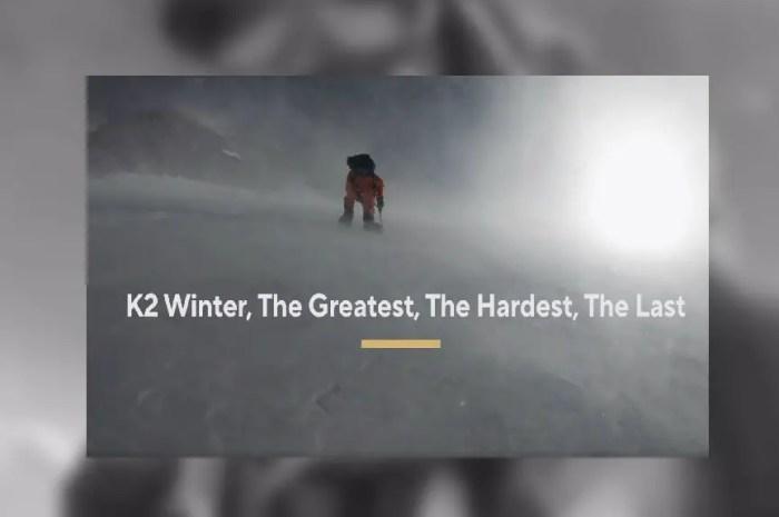 Nims Dai confirme son expédition au K2 cet hiver !