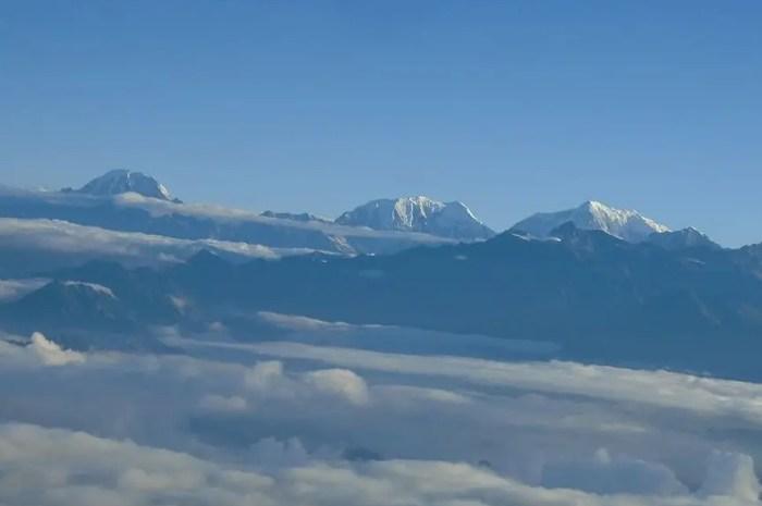 Le Saipal, un sommet de 7.031 mètres a perdu sa neige !