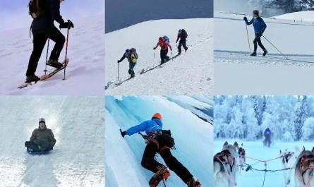 la montagne sans ski alpin