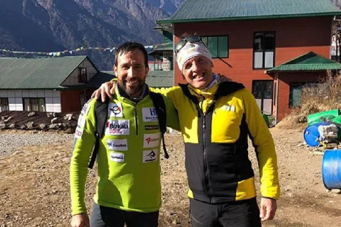 Simone Moro et Alex Txikon réunis cet hiver au Manaslu, 8.163m.