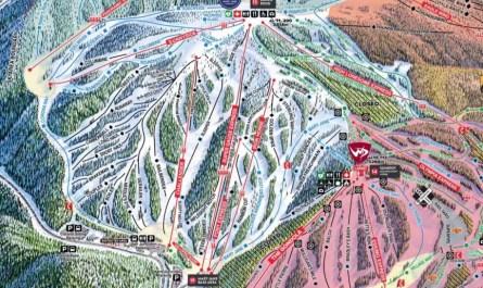 plan des pistes Winter Park