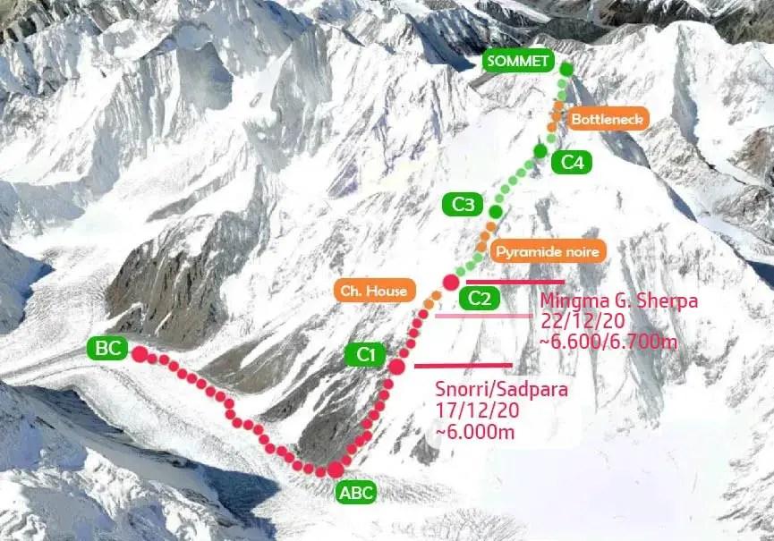 Camp 2 au K2
