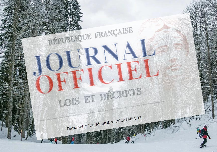 décret ski