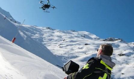 Nouveauté 3 Vallées Drone Val Thorens