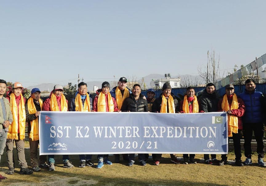 SST groupe photo pakistan