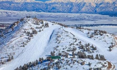 Skier en californie