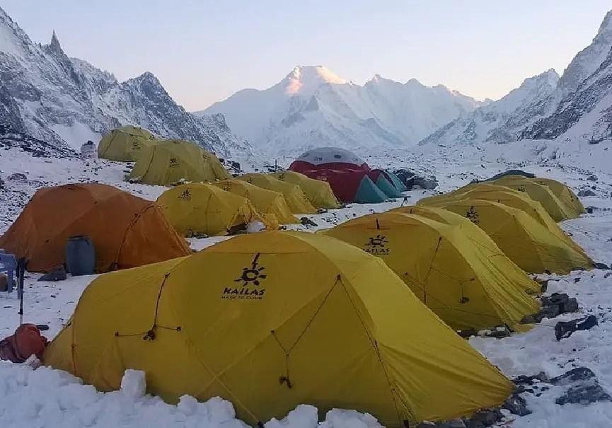 Camp de base du K2 (SST)