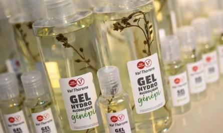 Gel hydroalcoolique génépi