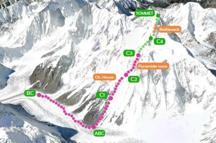 Au K2, Camp 3 ouvert : en route vers le dernier Camp et un record d'altitude en hiver !