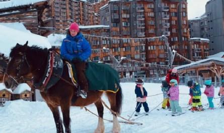 cheval ski