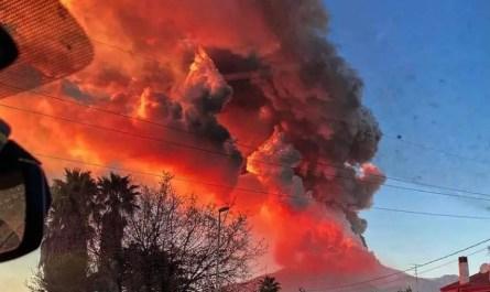 Etna éruption