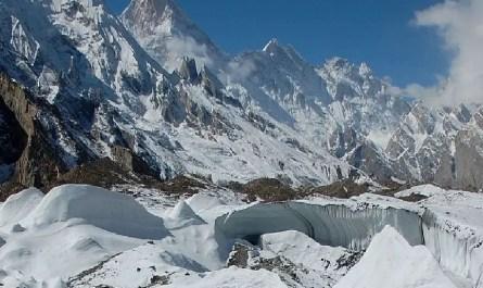 Glacier Baltoro vers le K2