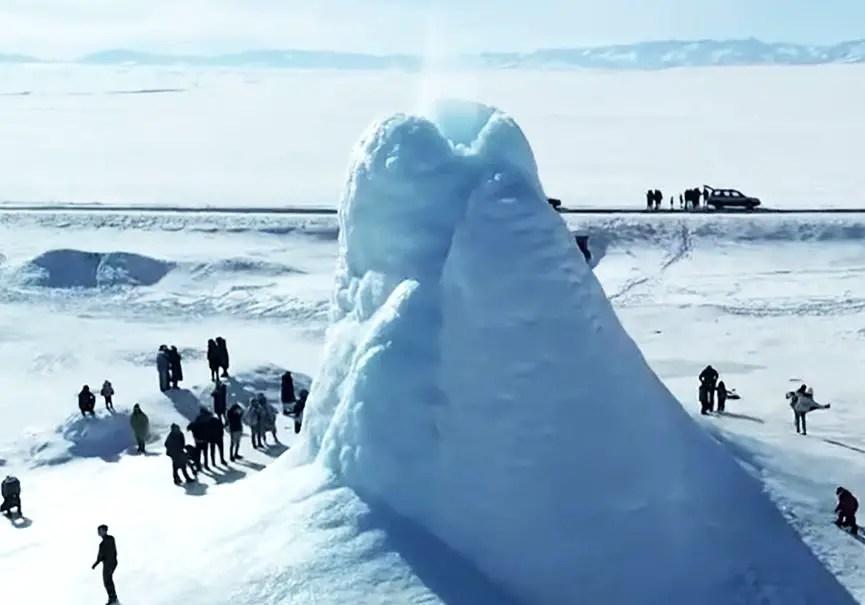 Volcan de glace