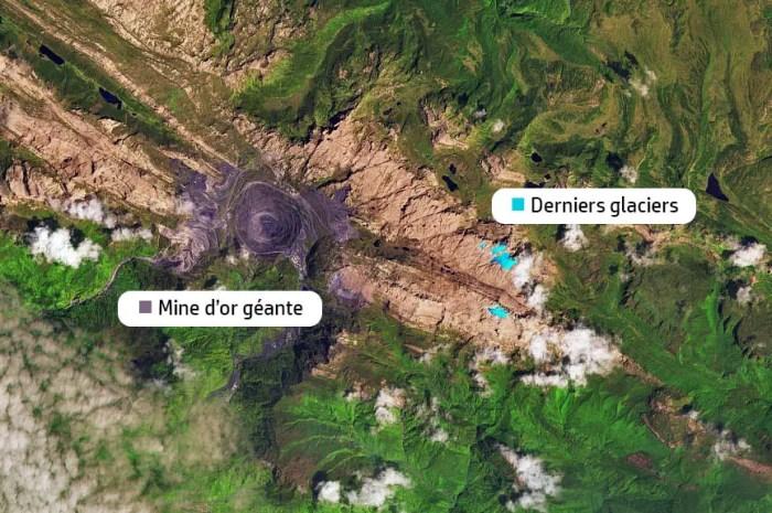 Les glaciers du point culminant d'Océanie auront disparu dans les 3 ans