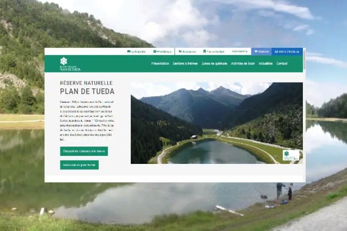 La Réserve Naturelle du Plan de Tuéda inaugure un nouveau site internet.