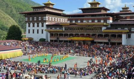 Tshechu Bhoutan
