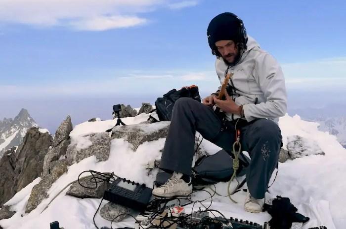 Un concert (sans public) au sommet, à 3.870 mètres d'altitude