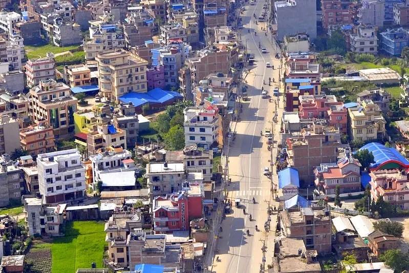 Reconfinement Katmandou