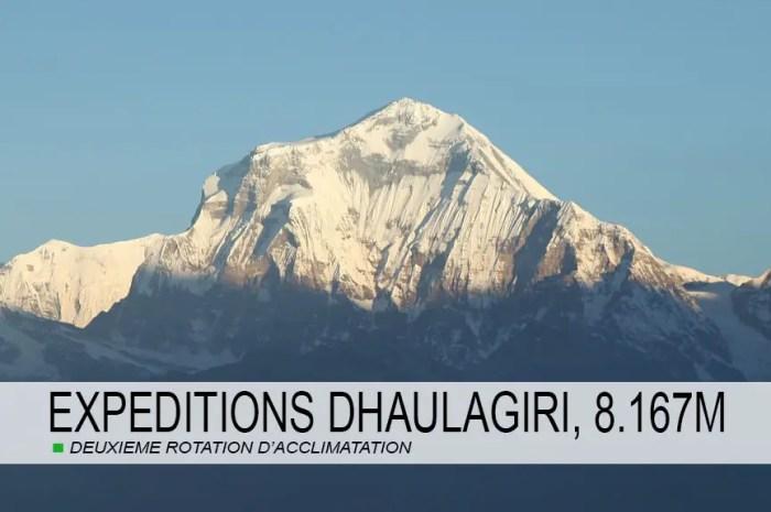 Expéditions 2021 : après l'Annapurna, c'est au tour du Dhaulagiri, 8.167m