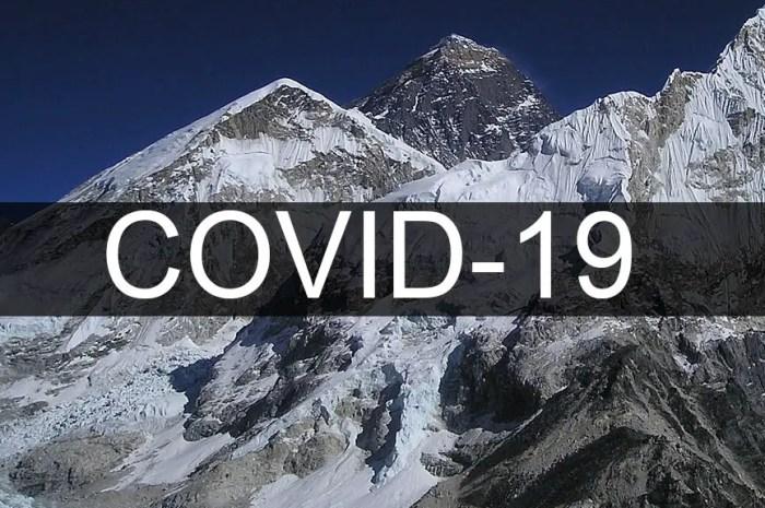 La pandémie au camp de base : un cas de covid-19 détecté à l'Everest !