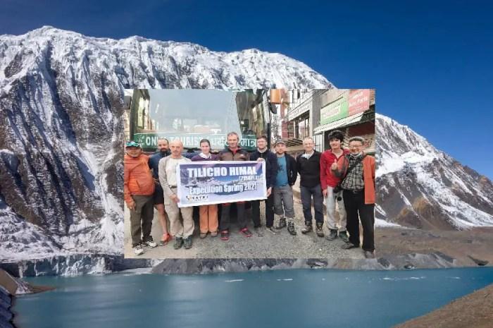 Une expédition française sur le Tilicho, 7.134 mètres !