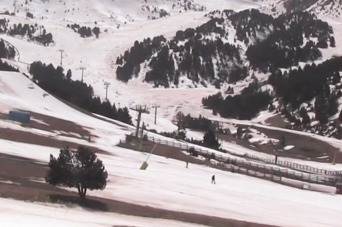 Fin de saison sans les Français dans les stations de ski d'Andorre !
